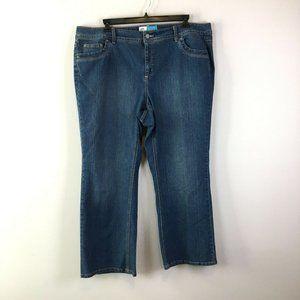 Just My Size JMS Modern Bootcut Jeans 22W Short